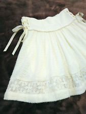 LIZ LISA Skirt shorts Japan-M Ivory white Laceup Hime&Lolita 109fashion Culottes