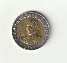 CUB ..  5 PESOS  2017  commemorative coin : Antonio Maceo