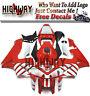 Motorrad Bodywork Fairing Kits Cowling Fit Honda CBR600RR CBR600 RR F5 05-06 red