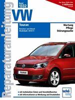 VW Touran ab 2010 Reparaturanleitung Reparaturbuch Reparatur-Handbuch Buch