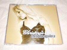 Christina Aguilera Christmas Time 2 Track EU Promo CD