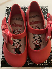 MINNIE Mary Jane in Red Genuine NEW Mini Melissa Ultragirl toddler size 5-10