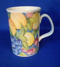 Coffee Tea Mug Cup Royal Doulton 1993 Expressions COUNTRY FRUITS Multi-color