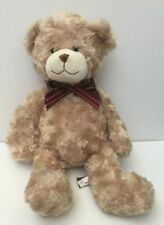 First & Main Butterscotch Teddy Bear Plush Stuffed Animal 15in Brown 1665