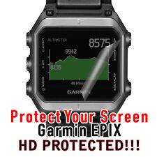 Screen Protector set of 2 Garmin Epix Hd Clear Waterproof