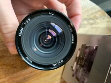 Vivitar 19mm f3.8 Wide Angle Lens for Canon FD Mount