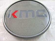 KMC  DARK GRAY CUSTOM WHEEL CENTER CAP*   #BC-968       (FOR 1  CAP)