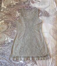 Tredy Damen Kleid beige Gr. 36