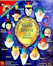 McDonald's 2001 Disney's Snow White Complete Set of 10