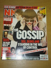 NME 2007 MAR 3 THE GOSSIP MUSE OASIS ARCADE FIRE JARVIS