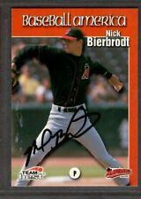 1999 Team Best #15  Nick Bierbrodt High Desert Maverick Signed Autograph (F56)
