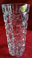 Ancien Grand Vase Art-Déco Vîntage en Cristal d'ARQUES FRANCE