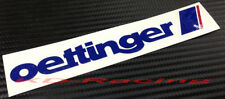 Oettinger Sticker Decals VW Golf GTI R32 R36 Polo Passat Free Shipping x 2