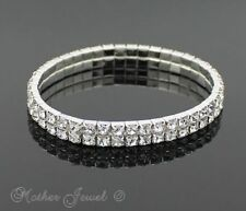 Unbranded Silver Plated Tennis Fashion Bracelets