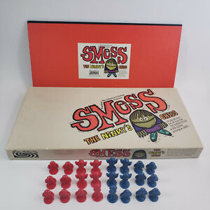 Smess The Ninny's Chess Board Game Vintage 1970 Complete