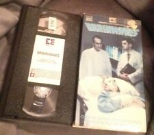 Brainwaves (VHS, R, 1986) Tony Curtis, Suzanna Love Free Shipping Tested