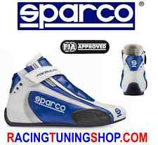 SPARCO RACE SHOES BOOTS FIA FORMULA + SL 8 blau FIA 8856-2000 RACING SCHUHE