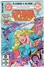 Superman Family #222 Final Issue featuring Tv's Supergirl! Gil Kane Cover!