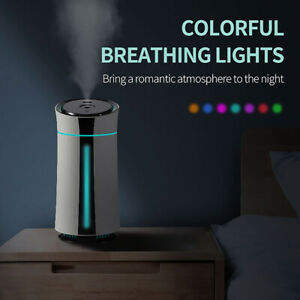1150ml USB LED Humidifier Quiet Air Mist Purifier Aroma Oil Diffuser For Home
