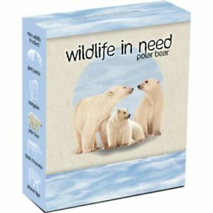 2012 Wildlife in need Polar Bear - 1oz Silver Proof Coin Perth Mint