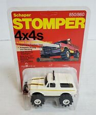 Mn106 Mint On Card Vintage 80'S Stomper White Ford Bronco 4X4 Nos Find!