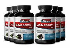 Acacia Powder -  Acai Berry Extract 1200mg - Give You Extra Energy 6B
