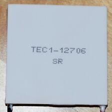 TEC1-12706 - Thermoelectric Peltier cooler module chip - 12V 6A 60W