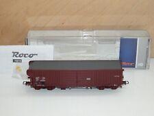 H0 Roco 76816 - Wagon à Toit, Sncb comme Neuf Emballage D'Origine 2859