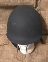 Vintage Belgium Cold War-era Military Paratrooper Helmet Belgiam NATO Army Liner