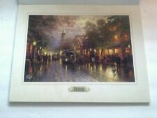 Evening on the Avenue by Thomas Kinkade 11 x14 Print