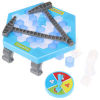 Mini Penguin Trap Board Game Ice Breaking Save The Penguin Party Game