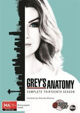 Grey's Anatomy : Season 13 (DVD, 2017, 6-Disc Set) R4