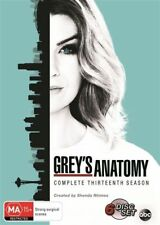 Grey's Anatomy : Season 13 (DVD, 2017, 6-Disc Set) Brand New Sealed Region 4