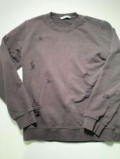 Sandro Paris Distressed crewneck sweatshirt sz Large