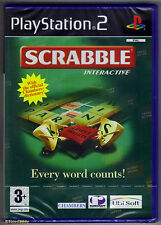 PS2 Scrabble Interactive (2004), UK Pal, Brand New & Sony Factory Sealed