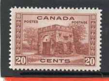 Canada GV1 1937-38 20c red-brown sg 365 HH.Mint