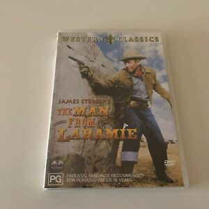 THE MAN FROM LARAMIE – DVD, JAMES STEWART, AUSTRALIAN REGION 4