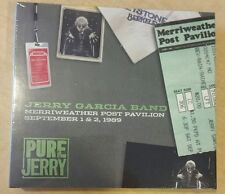 Jerry Garcia Band 1989 Pure Jerry 5 Merriweather Post Pavillion 9/1 & 9/2/89 NEW