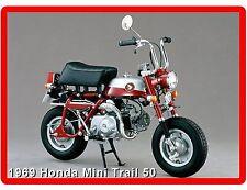 1969 Red Honda Mini Trail 50  Refrigerator / Tool  Box  Magnet
