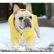 Dog Clothes Fleece Sweater French Bulldog Chihuahua Winter Coat Outfit Hoodie