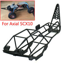 1/10 Scale RC Truck Crawler Frame Body Roll Cage Metal Black For AXIAL SCX10 1