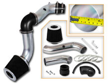 BCP BLACK 04-08 Chevy Aveo 1.6L L4 Cold Air Intake Induction Kit + Filter