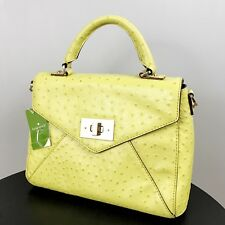 NWT KATE SPADE BAG Little Nadine Post Street Satchel Electric Lime RARE