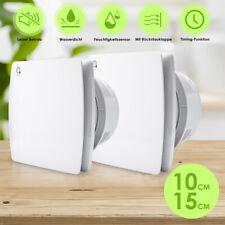 Badlüfter Feuchtesensor Timer CE Ventilator Mit Rückflussleitblech Wandlüfter