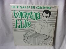 Concertina Eddie Cuca K-2043 Accordion Vintage Record