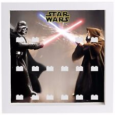 Lego Star Wars Darth Vader Minifigures Display Case Picture Frame mini figures