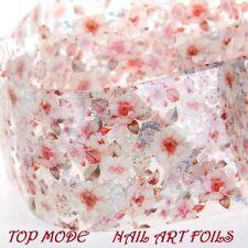 ❤️NOUVEAU ROULEAU 1M NAIL FOIL FEUILLE TRANSFERT MANUCURE ONGLES NAIL ART
