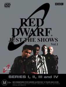 Red Dwarf : Series 1-4 DVD BOX SET (Reg 2 & 4, 2004, 4-Disc Set)