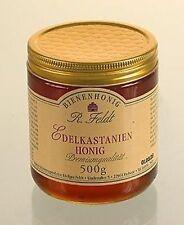 Edelkastanie Kastanien Honig  100% reiner Bienenhonig Brotaufstrich edel würzig!