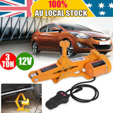 Universal 3Ton Electric Jack Scissor Lift Auto Tire Hoist Tool Remote Control AU